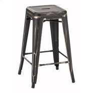Marius Counter Stool Anti Black Gold Product Image