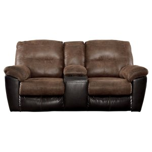 Signature Design by AshleySIGNATURE DESIGN BY ASHLEYFollett Reclining Loveseat With Console