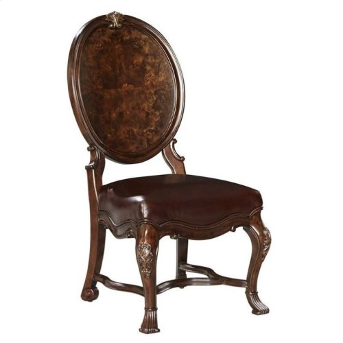 Casa D'Onore-Wood Side Chair