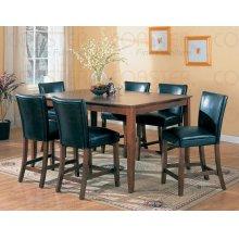 TABLE,CNTR HGHT CHERRY,48-66Lx48x36H