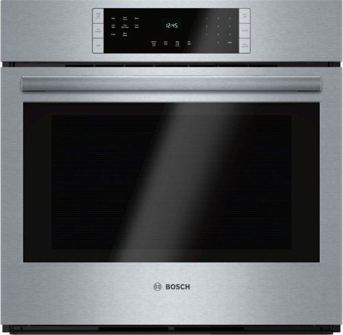 """800 Series, 30"""", Single Wall Oven, SS, EU Convection, Touch Control"""