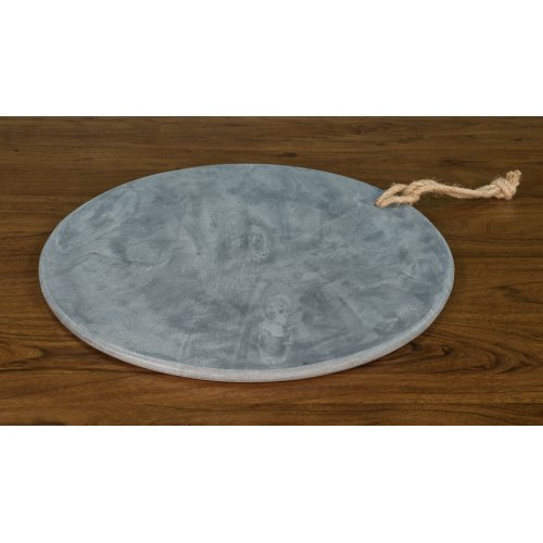 """Marly 20"""" Diameter Marble Plate"""