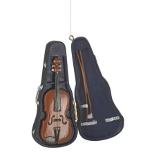 Violin in Case Ornament.