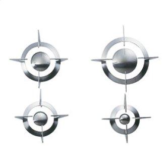 Set of St/Steel Grates and Burner Caps