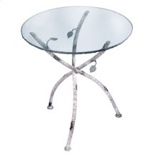 Whisper Creek Iron Accent Table