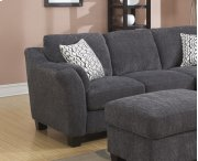 Left Side Facing Loveseat Charcoal Product Image