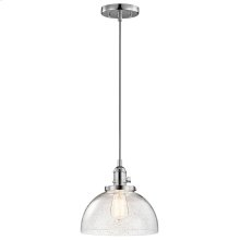 Avery Collection 1 Light Avery Mini Pendant CH