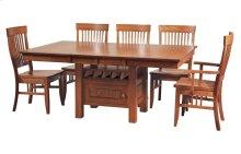 """45/52-2-12"""" Rectangular Dining Cafe"""