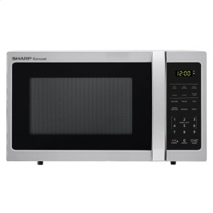 0.7 cu. ft. 700W Sharp Stainless Steel Carousel Countertop Microwave Oven -