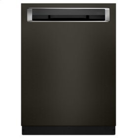 39 DBA Dishwasher with Fan-Enabled ProDry System and PrintShield Finish, Pocket Handle - Black Stainless Steel with PrintShield™ Finish