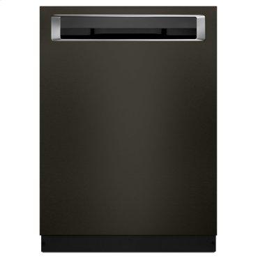 39 DBA Dishwasher with Fan-Enabled ProDry System and PrintShield Finish, Pocket Handle - Black Stainless Steel with PrintShield™ Finish