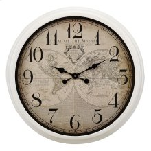 Maxwell Map Wall Clock