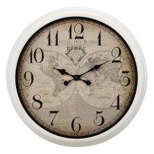 Maxwell Map Wall Clock