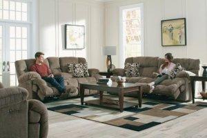 CATNAPPER 762041 Brice Power Headrest With Lumbar Power Reclining Sofa