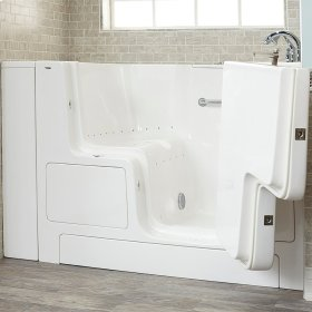 Value Series 32x52-inch Air Massage Walk-in Tub  American Standard - Linen