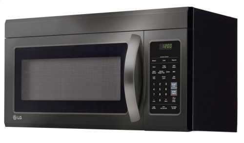 LG Black Stainless Steel Series 1.8 cu.ft. Over-the-Range Microwave Oven