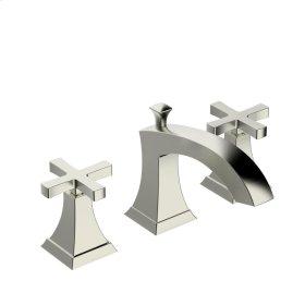 Widespread Lavatory Faucet Leyden (series 14) Satin Nickel (1)