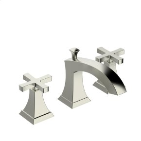 Widespread Lavatory Faucet Leyden (series 14) Satin Nickel (1)