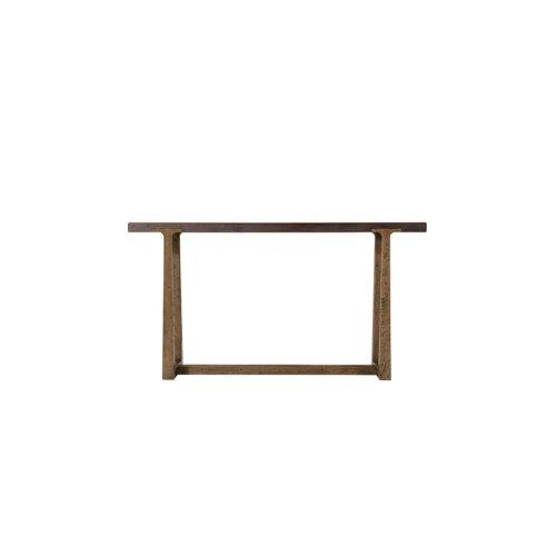 Stafford Console Table, Dark Echo Oak