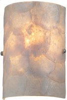 Wall Sconce, Ps/shell Glass Shade, E12 Type B 40w Product Image