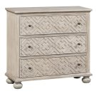 Hawthorne Estate 3 Drawer Fretwork Pattern Chest Product Image