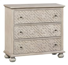 Hawthorne Estate 3 Drawer Fretwork Pattern Chest