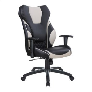 CoasterContemporary Black/grey High-back Office Chair
