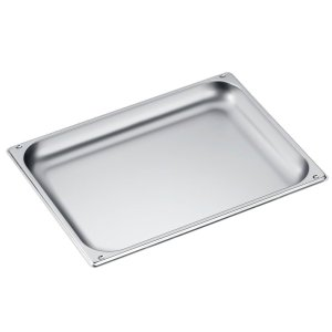 DGG 21 Unperforated steam oven pan for cooking food in gravy, stock, water (e.g. rice, pasta). -