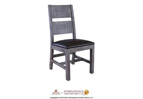 Chair w/Bonded Leather seat