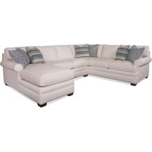 Kensington Three Piece Chaise Sectional