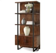 Terra Vista Bookcase Pier Casual Walnut finish Product Image
