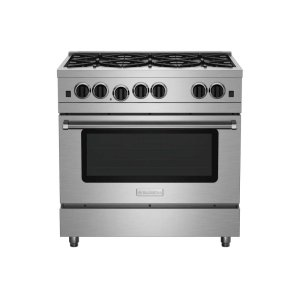 "Bluestar36"" Culinary Series (RCS) Sealed Burner Range"