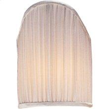Visual Comfort CHS111S E. F. Chapman Clip On Silk 4 inch Shades