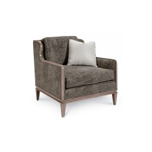 Cityscapes Fontaine Scoop Back Chair - Graphite