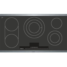 Benchmark Series - Black with Stainless Steel Frame NETP666SUC