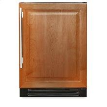 24 Inch Overlay Solid Door Undercounter Refrigerator - Right Hinge Overlay Solid