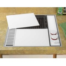CLOSEOUT ITEM : Expressions™ Collection Modular Electric Downdraft Cooktop