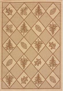 Solarium Woven Pine Brown Rugs