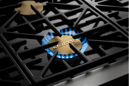 "48"" Heritage Gas Pro Range, Silver Stainless Steel, Liquid Propane"