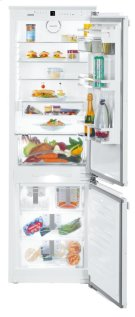 """24"""" Combined refrigerator-freezer with NoFrost for integrated use Product Image"""