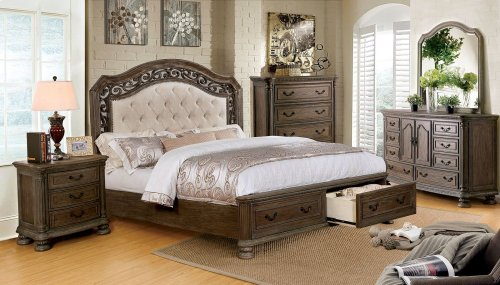 California King-Size Persephone Bed