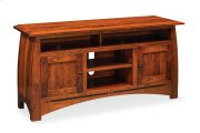 "Aspen TV Stand with Soundbar Shelf, Aspen TV Stand with Soundbar Shelf and Inlay, 54""w Product Image"