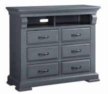 Media Chest - Slate Finish