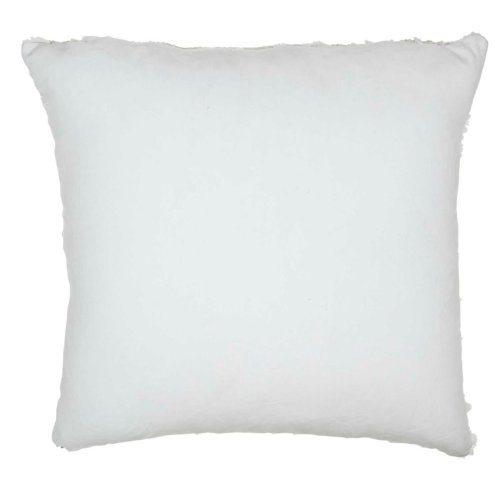 "Fur Vv201 Ivory Gold 20"" X 20"" Throw Pillows"