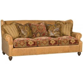 5200lf In By King Hickory In Brooklyn Ny Lucy Leather Fabric Sofa