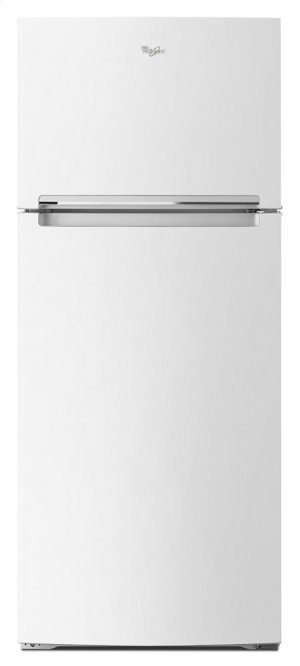 wrt518szfw in white by whirlpool in tampa, fl - 28-inch wide refrigerator  compatible with the ez connect icemaker kit - 18 cu  ft