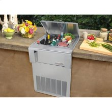 Built in Counter Top Refrigerator