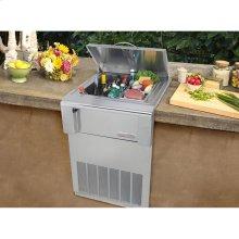 Built in Counter Top Refrigerator