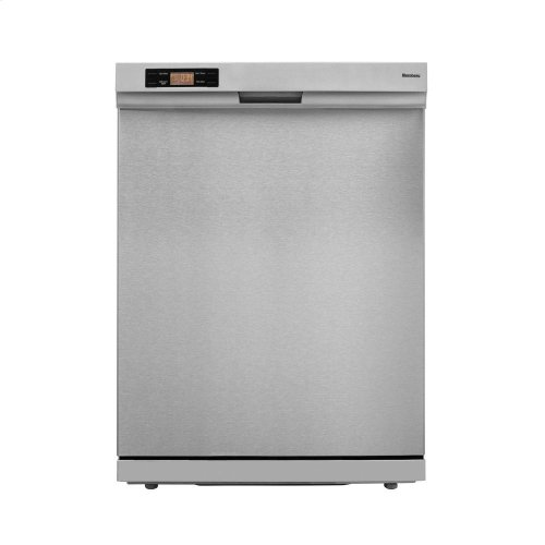 Standard height dishwasher 5 cycle front control stainless 49 dBA