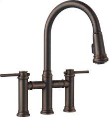 Blanco Empressa Bridge Faucet - Oil Rubbed Bronze